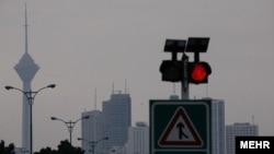 یکی از روزهای آلوده تهران