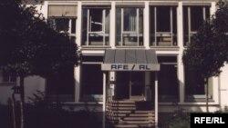 Sediul de la München al postului de radio Europa Liberă/Libertatea