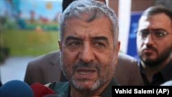 The head of Iran's IRGC Gen. Mohammad Ali Jafari
