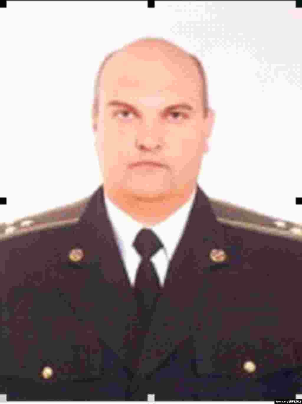 Сергей Никифоров, экс-начальник третьего отдела бывшего главного отдела по борьбе с коррупцией и организованной преступностью крымского главка СБУ
