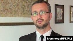 Заступник голови Меджлісу кримськотатарського народу Наріман Джелял