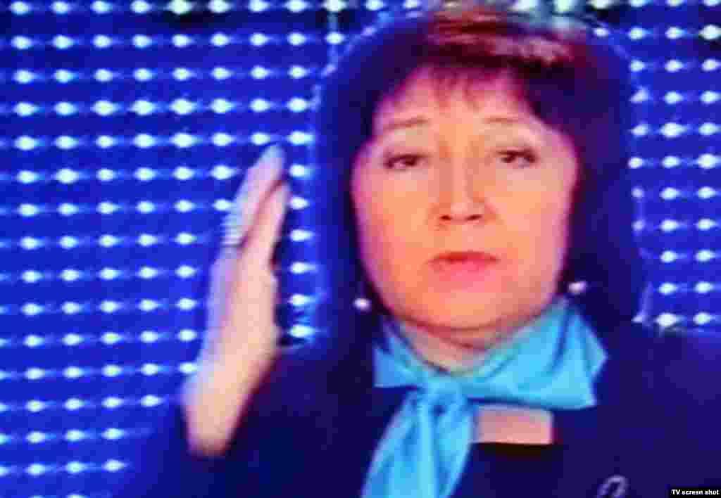 Заместитель председателя пропрезидентской партии патриотов Казахстана Гульдана Нурпеисова.
