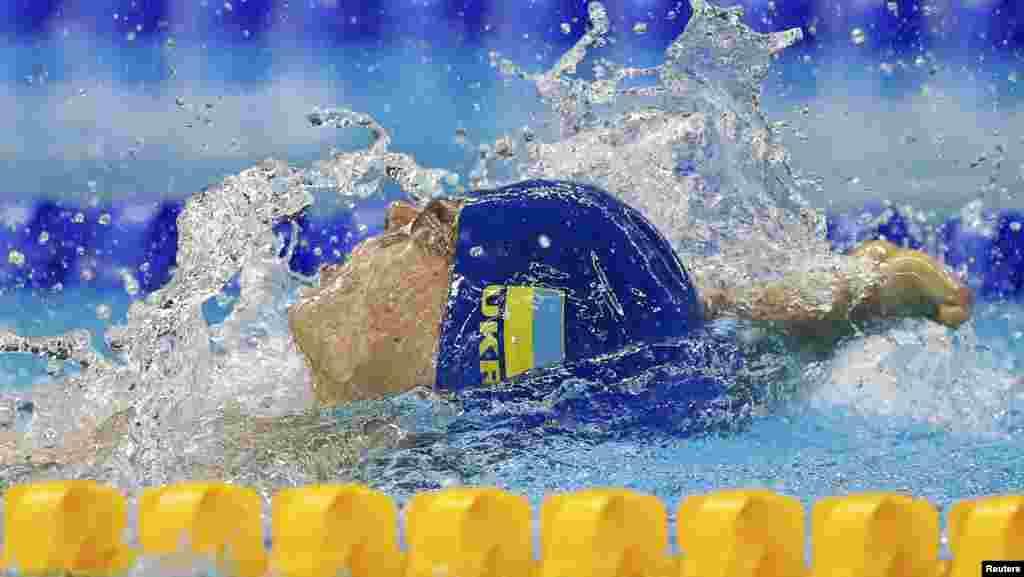 Євген Богодайко, золотий призер Літніх Паралімпійських Ігор 2016 із плавання на дистанції 100 метрів на спині