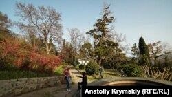 Алупка, Южный бере Крым, март 2019 год