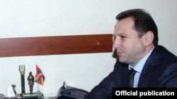 Замминистра обороны Армении Давид Тоноян (архив)