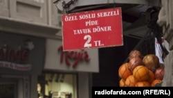 Продолжение политики: турецкие фрукты