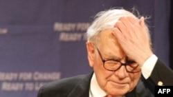 Vorren Buffet 67 illik ömründə belə vəziyyət görmədiyini deyir