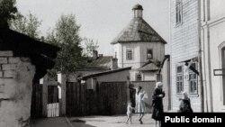 Чебоксары в 1960-е. Сейчас здесь находится мужской монастырь