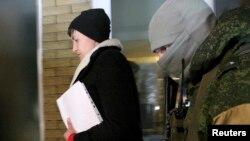 Надія Савченко в окупованій Макіївці, 24 лютого 2017 рік