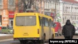 Симферополь, заморозки, архивное фото