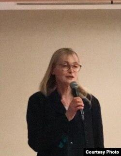 Мария Бродская на филантропическом концерте