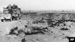 Румынские войска наступают на Керченском полуострове, май 1942 года