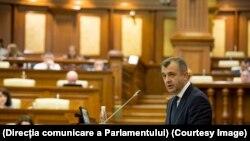 Ion Chicu în Parlament