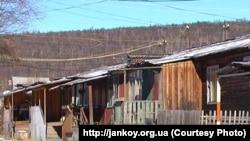 Бараки БАМовцев в Тынде.