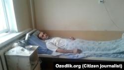 Врачи не опасаются за жизнь сельского учителя Ахмада Ниёзимбетова, совершившего попытку самосожжения.