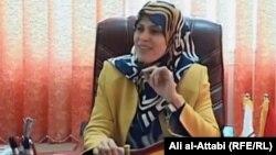 عميدة لكلية الصيدلية في جامعة ذي قار الدكتورة مها شاكر