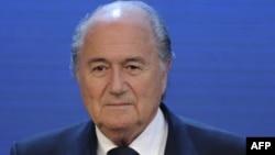 FIFA басшысы Зепп Блаттер.