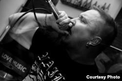 Солист группы Deathsquad Алексей Морозов