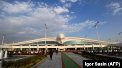 Ashgabat may have a glittering new airport, but that doesn't mean Turkmen citizens can just hop on any old flight.