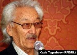 Габбас Кабышулы, казахский писатель. Алматы, 13 марта 2012 года.