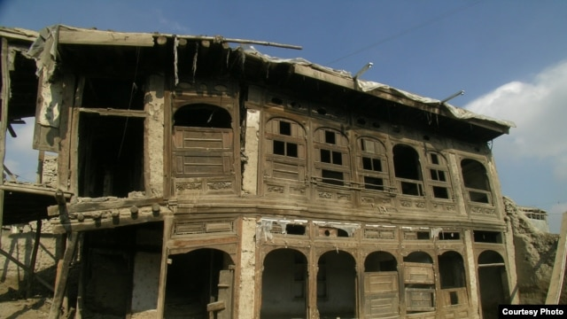 "The 1920s Peacock House in Kabul's Murad Khane neighborhood, before renovation (see below for the ""after"" photo)"