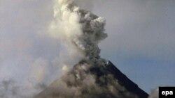 Vulkan Majon, fotoarhiv