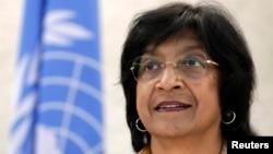 Високиот комесар за човекови права на ОН, Нави Пилај.