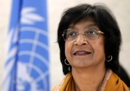 Navi Pillay, the UN high commissioner for human rights
