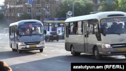 Փոքր ավտոբուսներ Երևանում, արխիվ