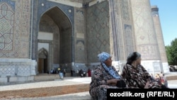 Самарканддагы Бибиханум мечити