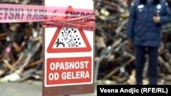 Beograd: Uništenje ilegalnog oružja
