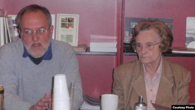 Sa promocije knjige Zagorke Golubović u Centru za kulturnu dekontaminaciju, 7. novembar 2012.
