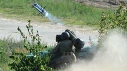 Випробування військовими ЗСУ американських ракетних комплексів «Джавелін» (Javelin) на військовому полігоні, 22 травня 2018 рік
