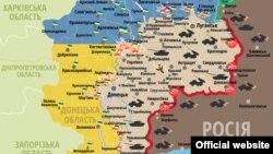 Сытуацыя ў зоне баявых дзеяньняў на Данбасе