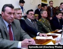 Сямён Домаш і іншыя кандыдаты на выбарах у 2001 годзе