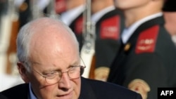 Vice President Dick Cheney arrived in Ukraine late on September 4.