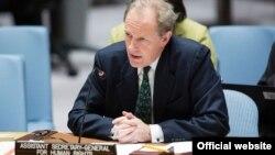 Эндрю Гилмор, помощник Генерального секретаря ООН по правам человека