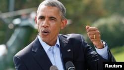 АҚШ Президенти Б.Обама, Вашингтон ш., 2014 йил 9 август.