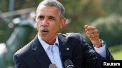 AQSh Prezidenti Barak Obama, Vashington shahri, 2014 yil 9 avgust.