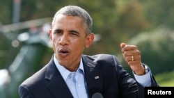 أوباما يتحدث عن الوضع في العراق - واشنطن 9 آب 2014