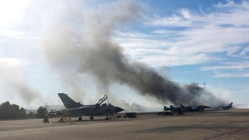 Се урна воен авион во Шпанија  загина пилотот