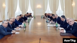 Azerbaijan -- a meeting of the Cabinet of Ministers - 15Jan2013