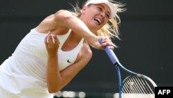 Мария Шарапованын теннис ойноп жаткандагы учуру.