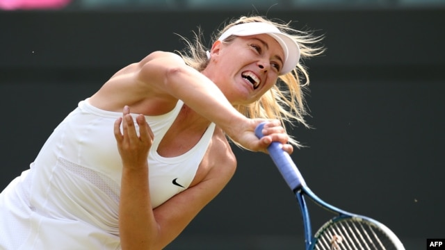 Russian tennis player Maria Sharapova (file photo)