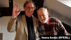 Lordan Zafranović i Dušan Makavejev, foto: Vesna Anđić