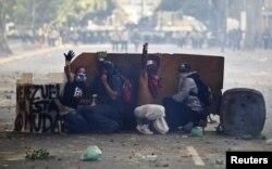 Протесты в Каракасе, 22-23 февраля