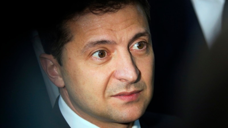 Ukraine's Zelenskiy Says No 'Formula' In Place To Free Russian-Annexed Crimea