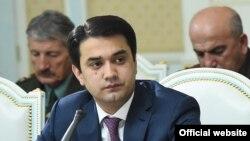 Рустами Эмомали, мэр города Душанбе