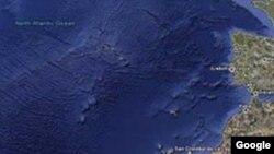Google Ocean: Navodna lokacija Atlantide