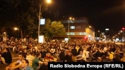 Протести против полициска бруталност на 10 јуни 2011 година.